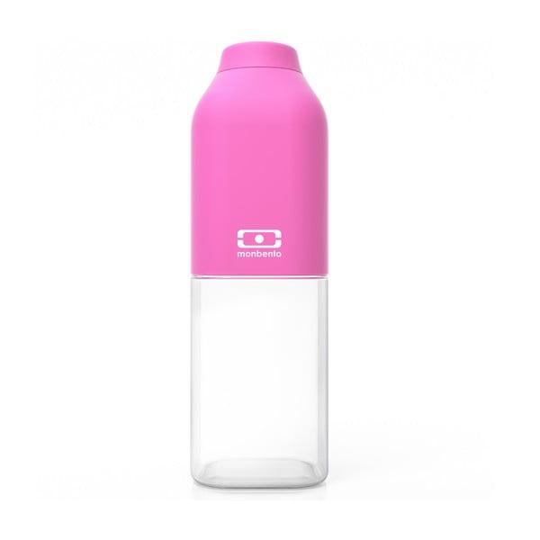 Różowa butelka Monbento Positive Pink, 500 ml