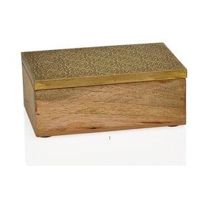 Dekoracyjne pudełko Gold, małe