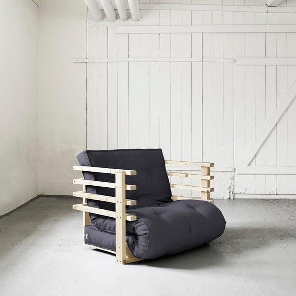 Fotel rozkładany Karup Funk Natural/Gray