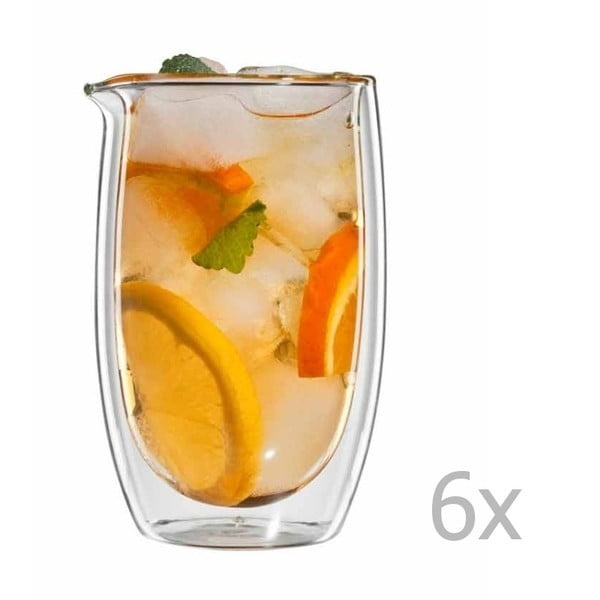 Zestaw 6   szklanek na herbatę bloomix Gyuokuro