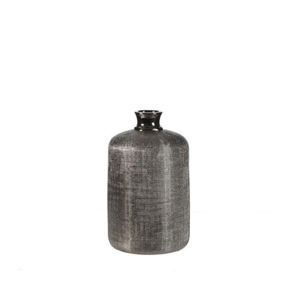 Wazon ceramiczny Ivan Silver, 30 cm