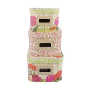Zestaw 3 pudełek Spring Garden