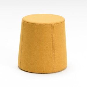 Żółty podnóżek Balcab Home Omega