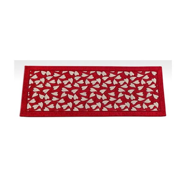Wytrzymały chodnik kuchenny Webtapetti Corazon Rosso, 55x140 cm