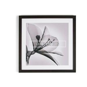 Obraz w ramie Graham & Brown Dream Big, 50x50 cm