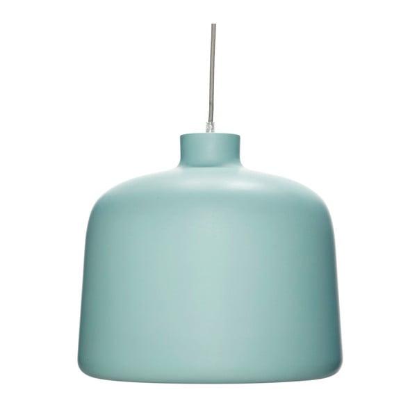 Turkusowa lampa wisząca Hübsch Muno