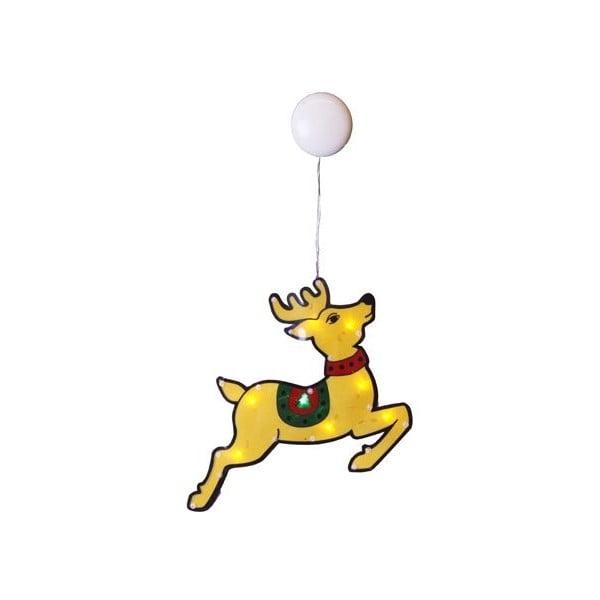 Świecąca dekoracja Happy Reindeer
