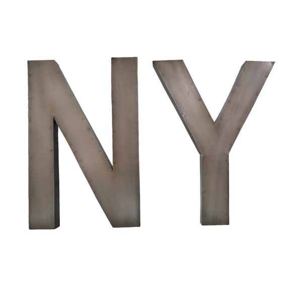 Napis dekoracyjny NY