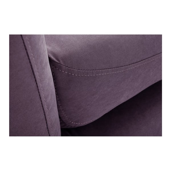 Fioletowy 3-osobowy narożnik lewostronny Scandi by Stella Cadente Maison Maison Constellation