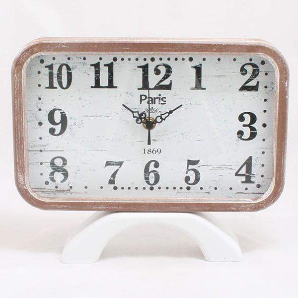 Drewniany zegar Paris 1869