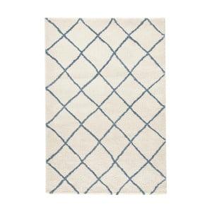Biały dywan Mint Rugs Grid, 80x150cm