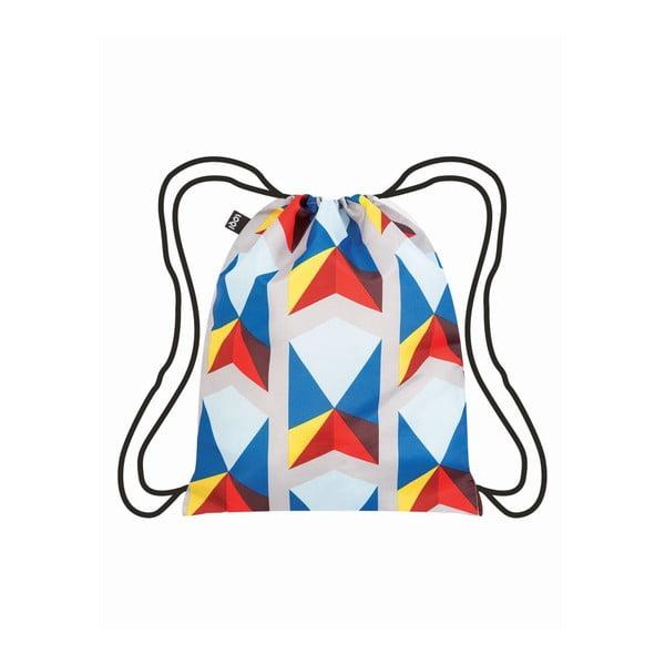 Worek płócienny LOQI Triangles Geometric