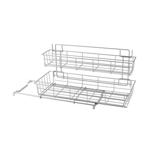 Dodatkowa 2-poziomowa półka kuchenna Metaltex Limpio