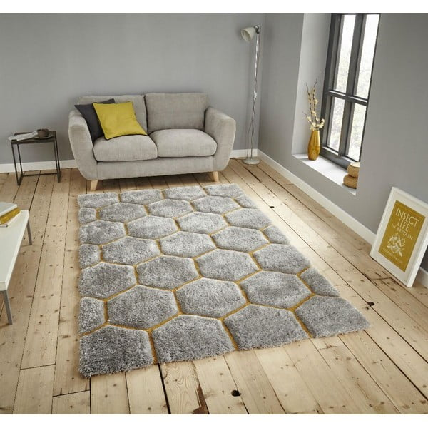 Szary dywan Think Rugs Noble House 120x170 cm