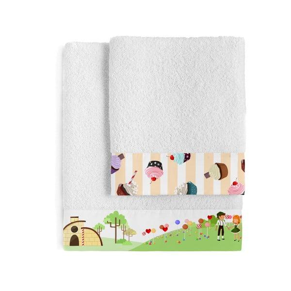 Zestaw 2 ręczników Mr. Fox Candy House, 50x100 cm i 70x140 cm