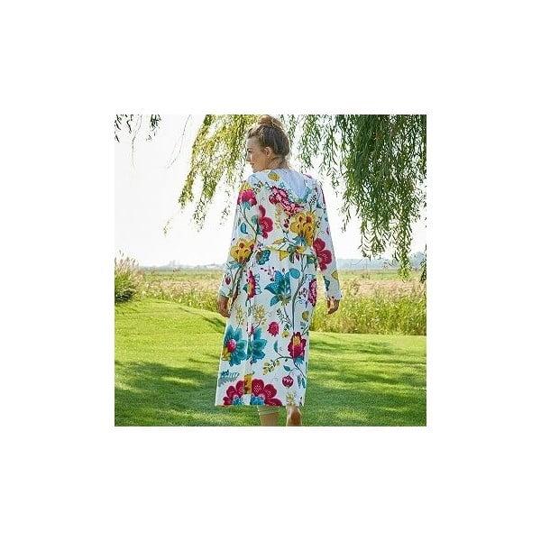 Szlafrok Pip Studio Floral Fantasy, biały, rozm. XXL