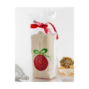 Ręcznik w opakowaniu podarunkowym Christmas V20, 30x45 cm