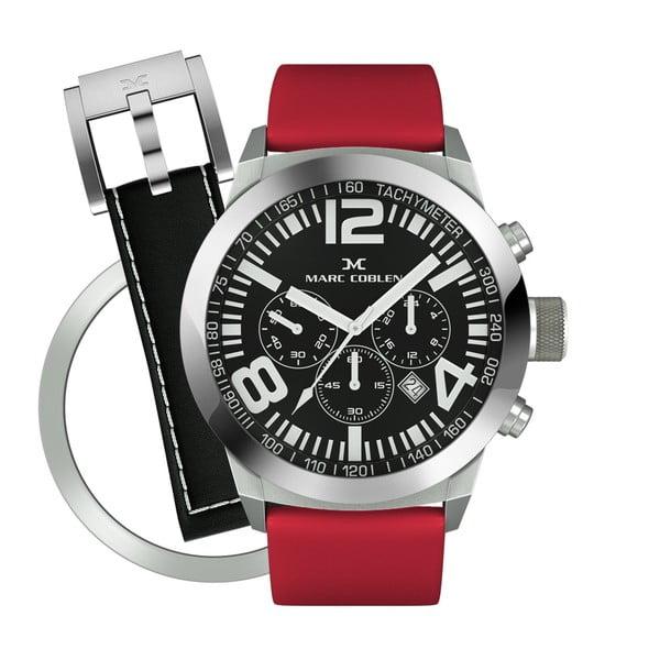 Zegarek unisex Marc Coblen z dodatkowym paskiem i obręczą P109