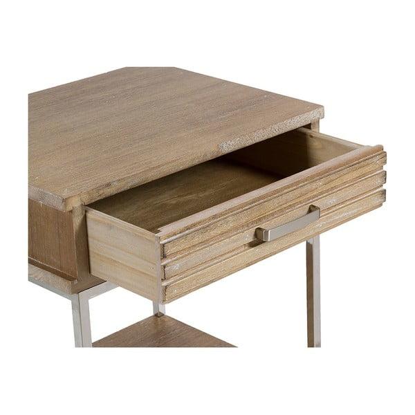 Szafka z półkami i szufladą z drewna tekowego Santiago Pons Parma