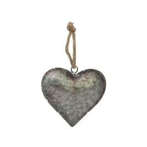 Dekoracja wisząca Antic Line Zinc Heart