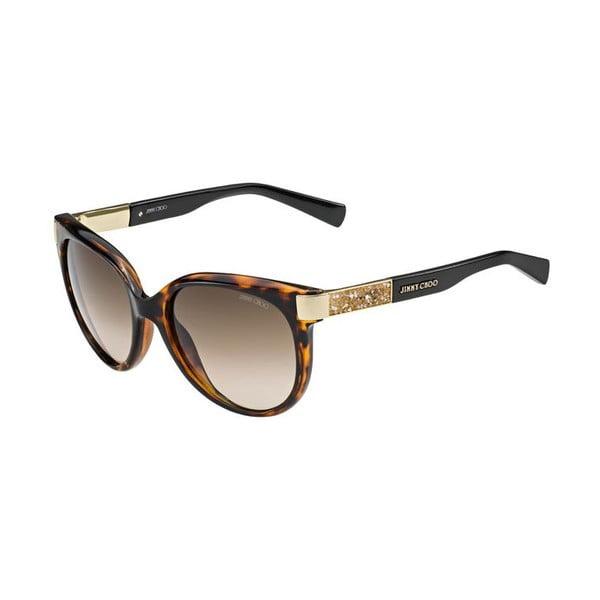 Okulary przeciwsłoneczne Jimmy Choo Erin Havana/Brown