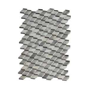 Dywan skórzany Revolution Grey, 160x230 cm