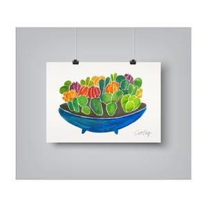 Plakat Americanflat Succulents, 30x42 cm