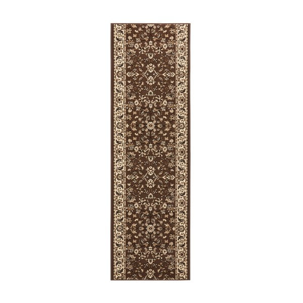 Dywan Basic Vintage, 80x500 cm, brązowy