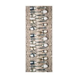 Wytrzymały dywan kuchenny Webtappeti Tea, 58x140cm