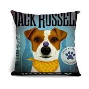 Poszewka na poduszkę Jack Russel, 45x45 cm
