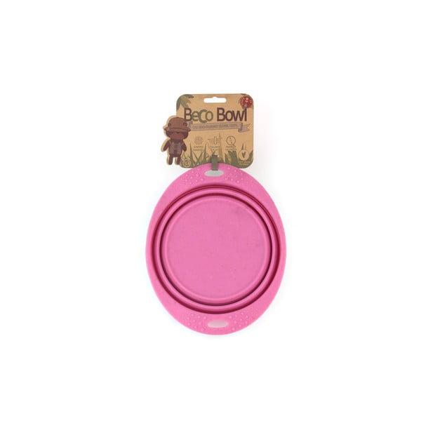 Miska turystyczna Beco Travel Bowl 22 cm, różowa