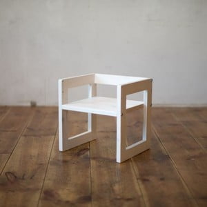 Krzesło dziecięce Just White