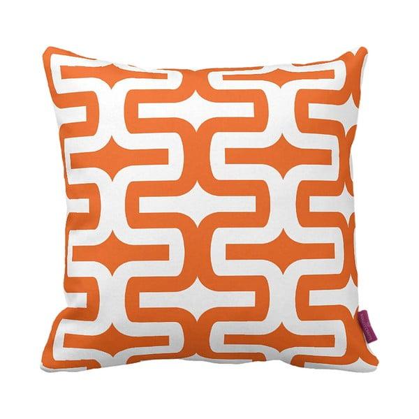 Poduszka Retro Orange, 43x43 cm