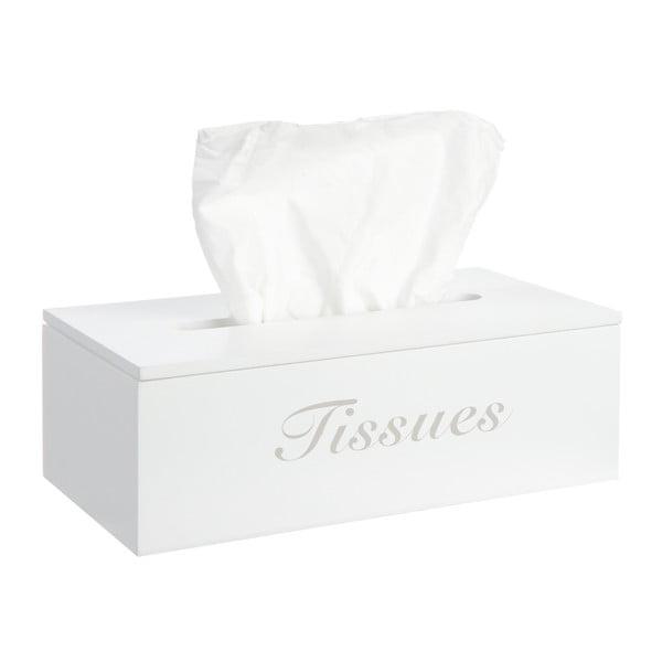 Pudełko na chusteczki White Kleenex