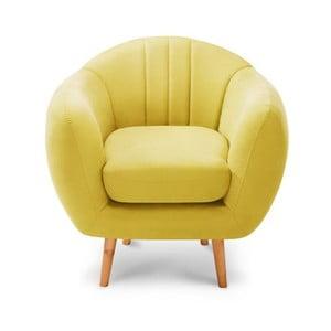 Fotel Comete Stripes Yellow