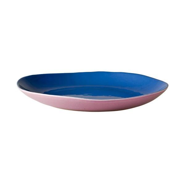 Ceramiczny talerz Blue Pink