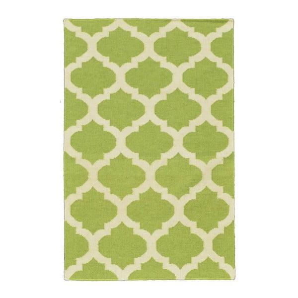 Ręcznie tkany dywan Kilim JP 11212 Green, 90x150 cm