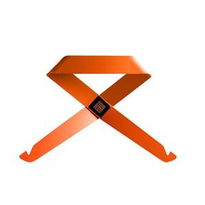Pomarańczowy wieszak ścienny MEME Design Fiocco