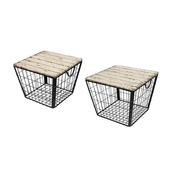 Zestaw 2 koszyków/stolików Novita Tavoli