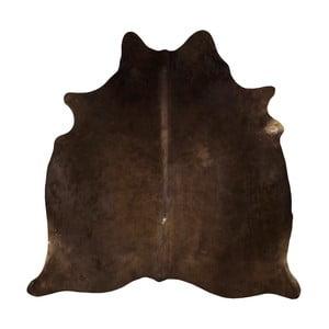 Brązowa skóra bydlęca, 180x155 cm