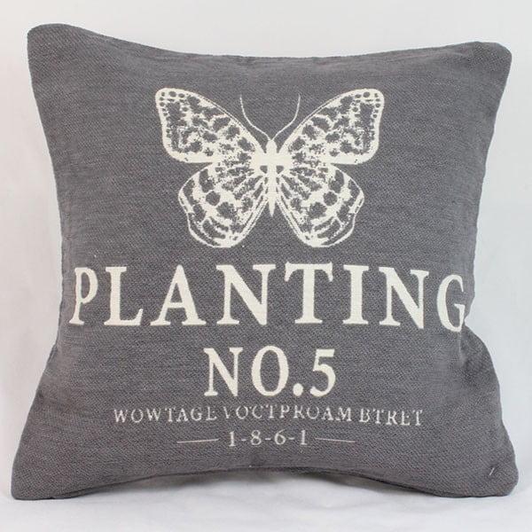 Poszewka na poduszkę Planting 40x40 cm, ciemna