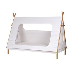 Łóżko dziecięce Tipi 90x200 cm, białe