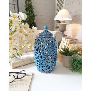 Waza Potiche Blue Antique
