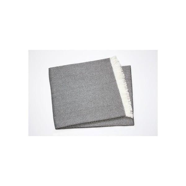 Lekki koc Skyline Dark Grey, 140x250 cm