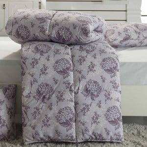 Narzuta pikowana na łóżko jednoosobowe Ames Maroon, 155x215 cm