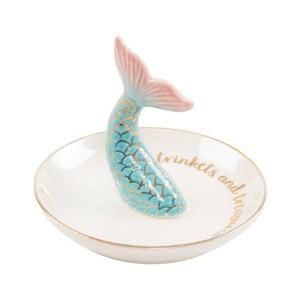 Talerz dekoracyjny Sass & Belle Mermaid Tail Trinket