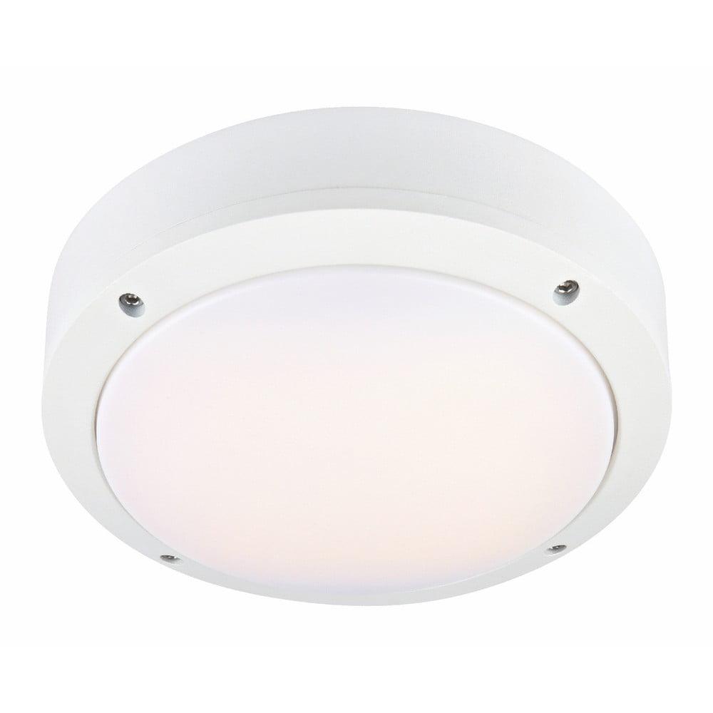 Biała lampa wisząca Markslöjd Luna, ø 22 cm