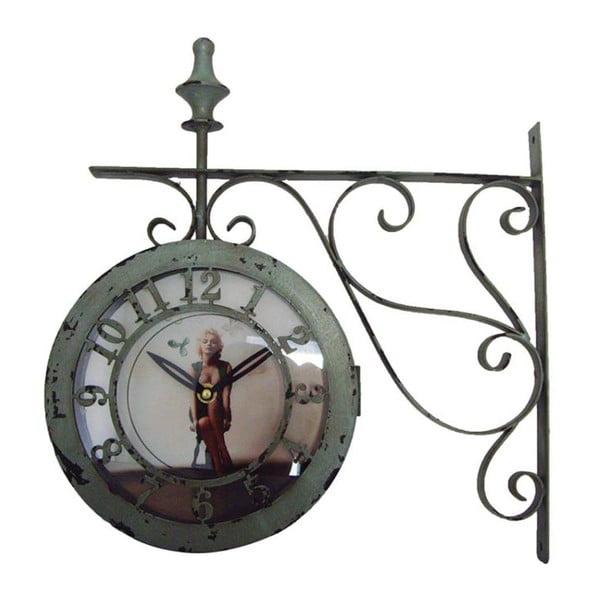 Zegar ścienny Ferro Marilyn, 37x38x10 cm