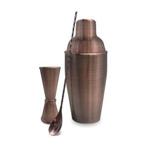 Komplet akcesoriów barmana w miedzianej barwie Vin Bouquet Copper