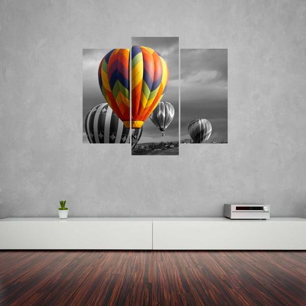 Trzyczęściowy obraz Balloon